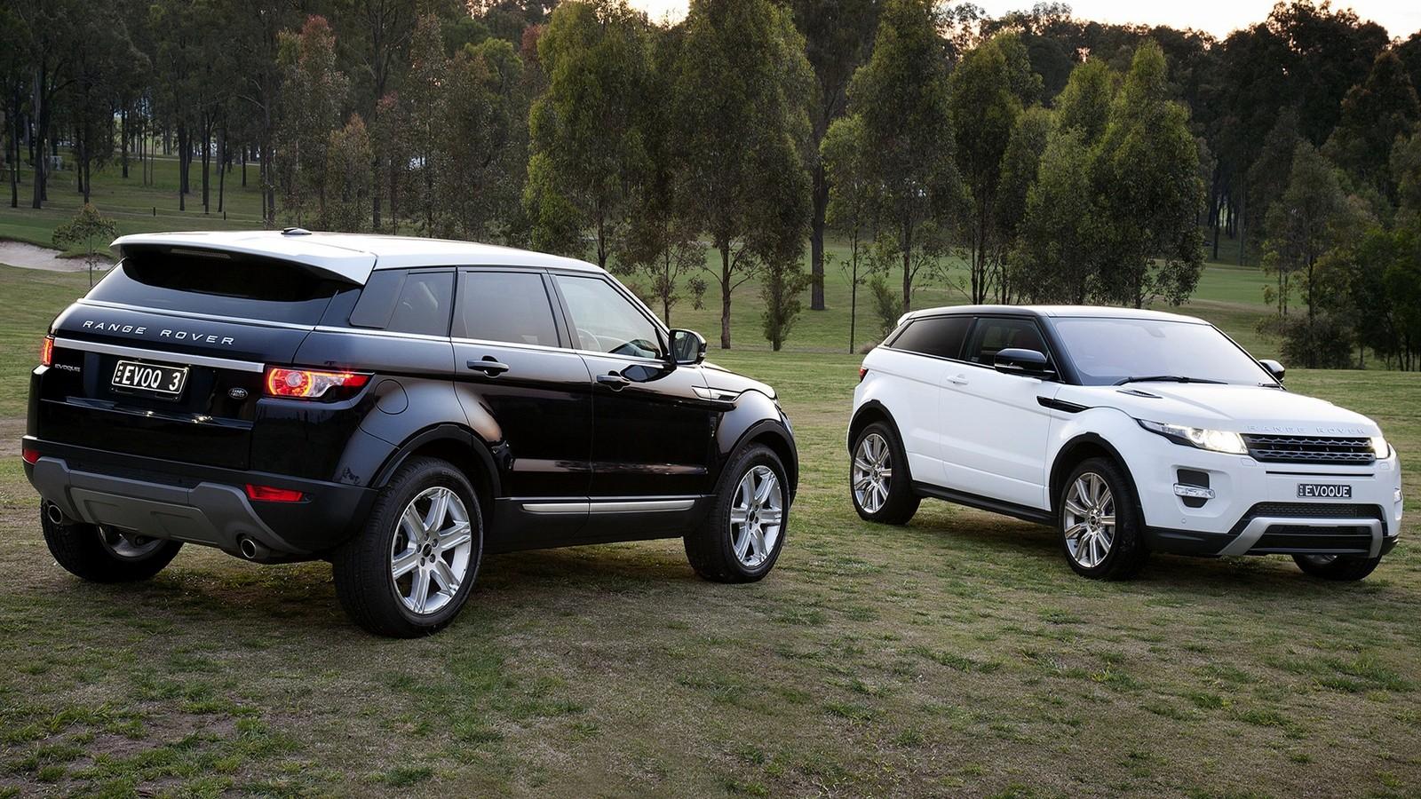 На фото: Range Rover Evoque