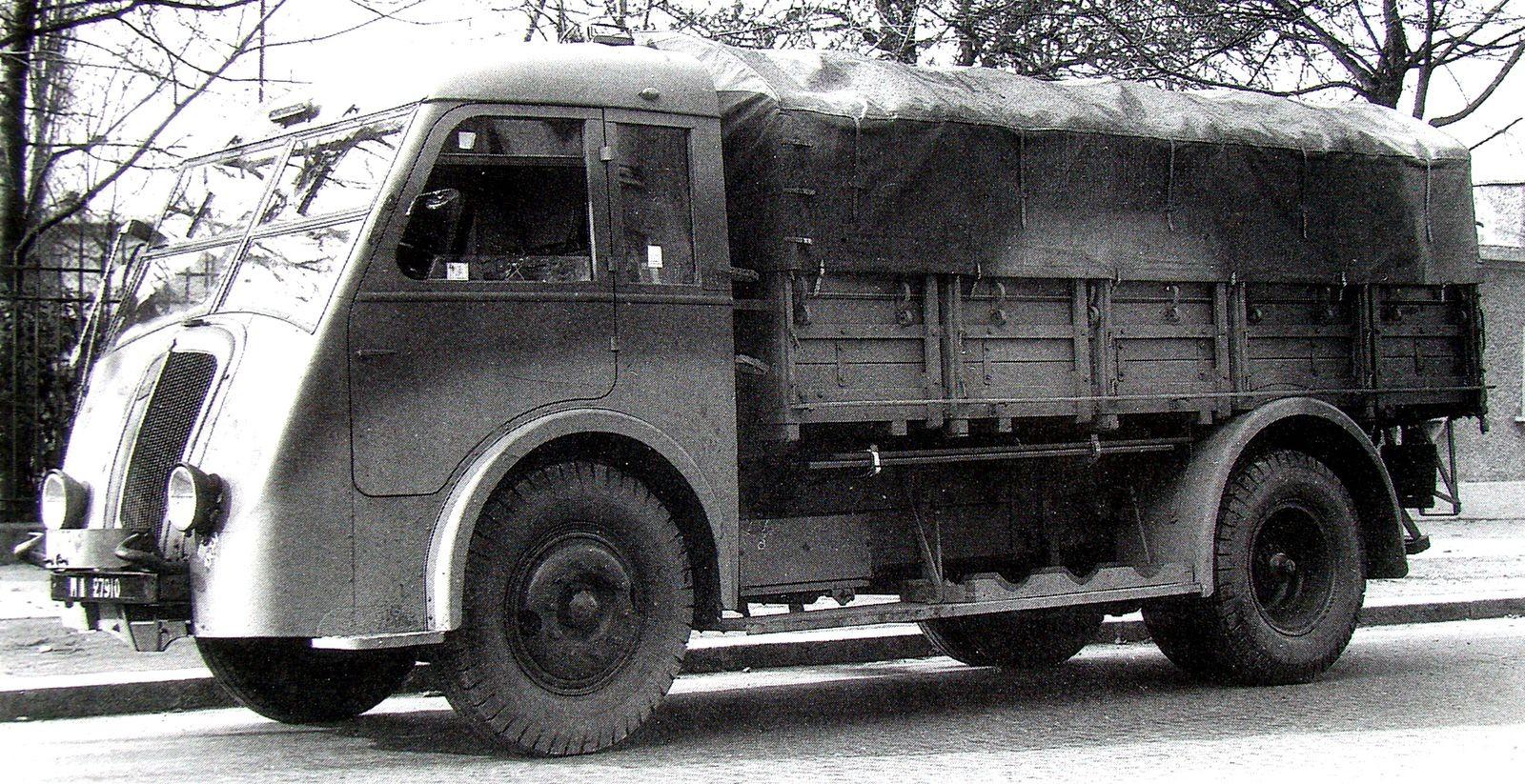 Миролюбивая оккупация и её итоги: неизвестные французские автомобили во времена Второй мировой