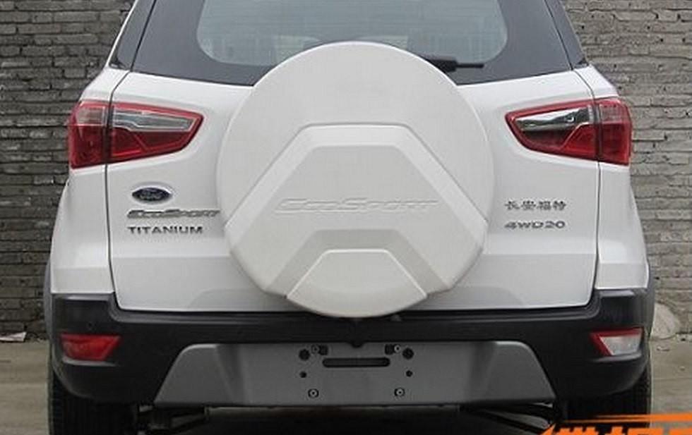 На фото: обновленный Ford EcoSport для Китая