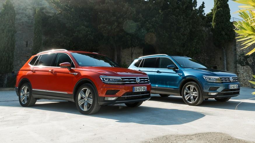 Семиместный Volkswagen Tiguan в РФ: только полный привод и мощные моторы