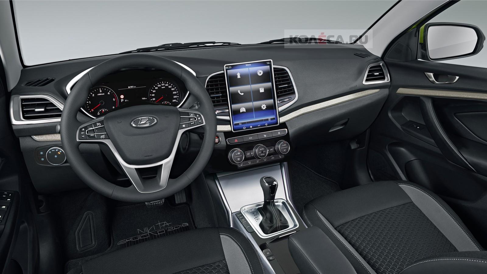 Lada Vesta interior1