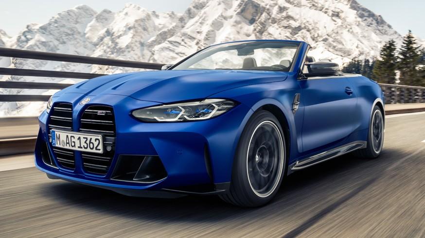 Кабриолет BMW M4 Competition: теперь мягкий верх и только полный привод