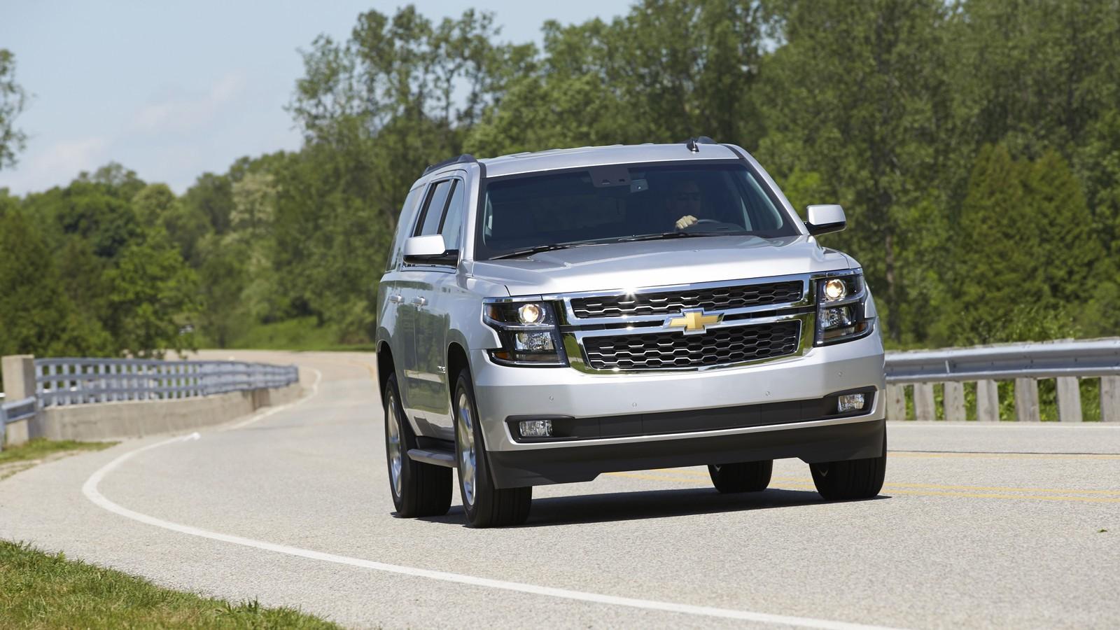 Oбновленный Chevrolet Tahoe LT