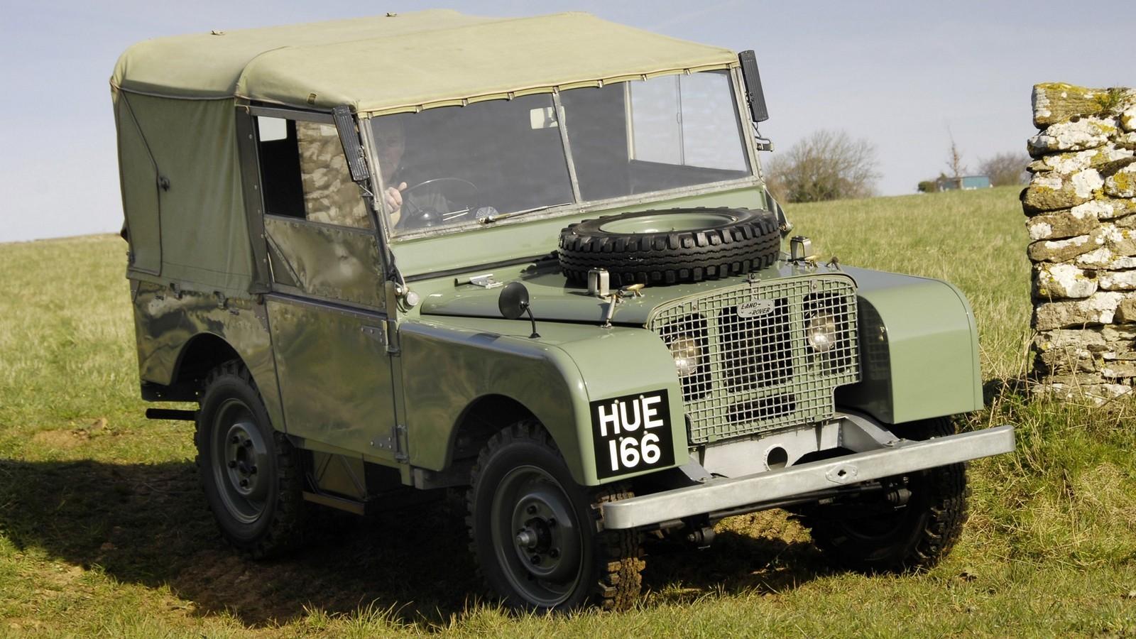 На фото: Land Rover Series I '1948–54
