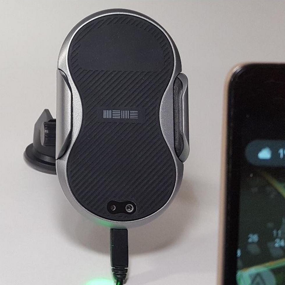 робот-держатель для смартфона с беспроводной зарядкой (3)