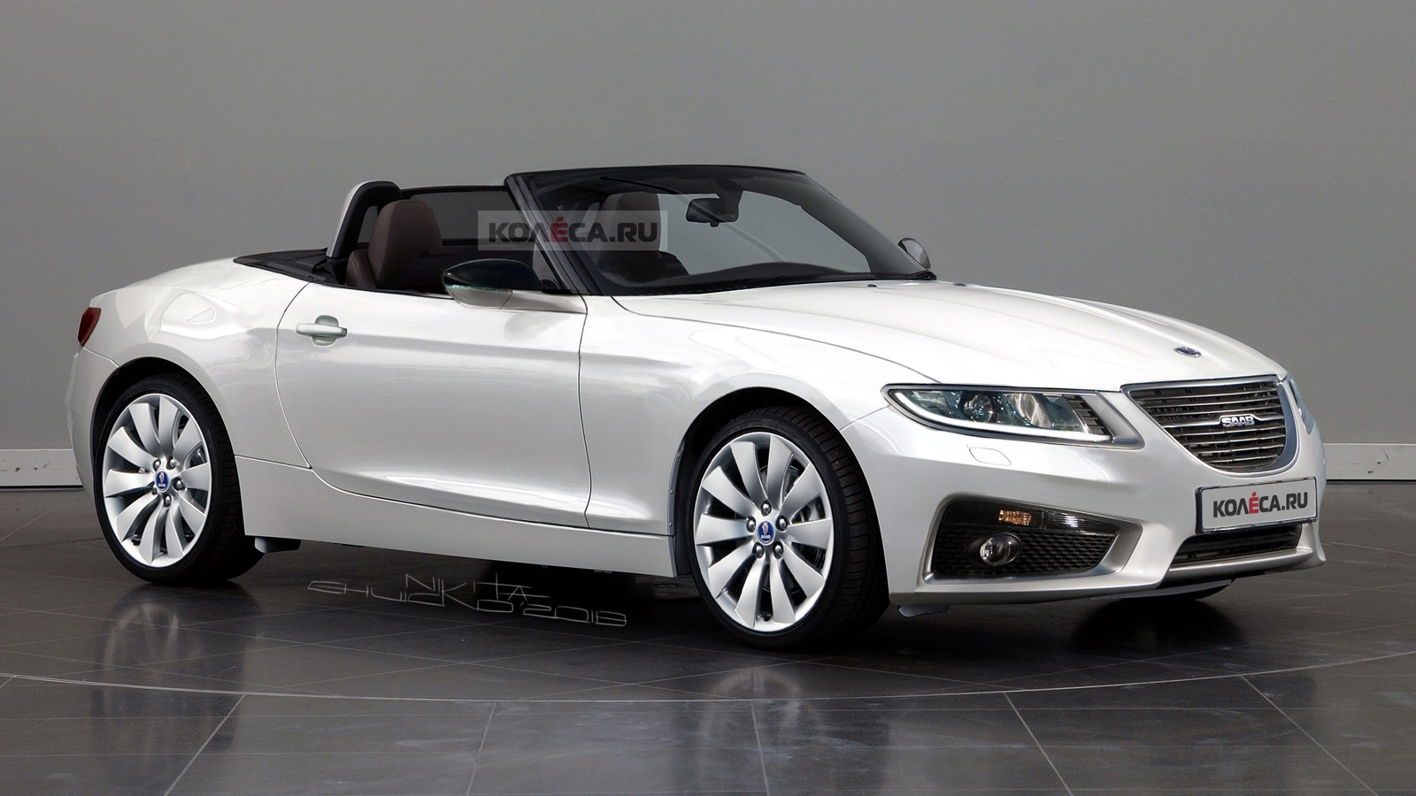 SAAB Roadster front
