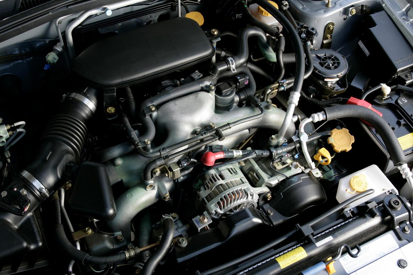Под капотом Subaru Forester 2.0X (SG) '2005–08