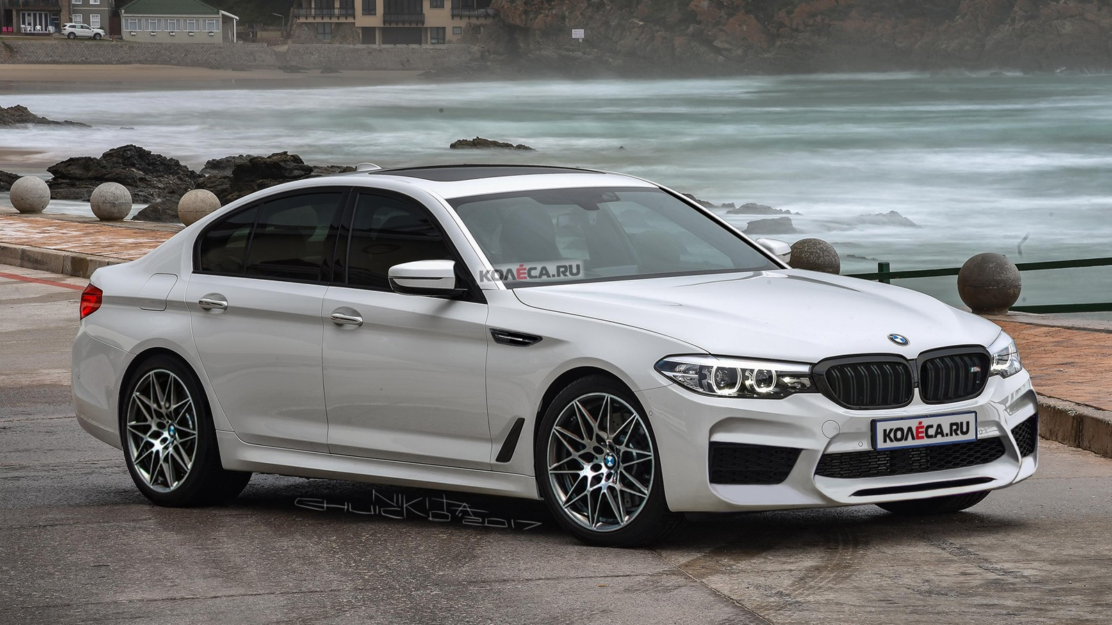 BMW M5 front1