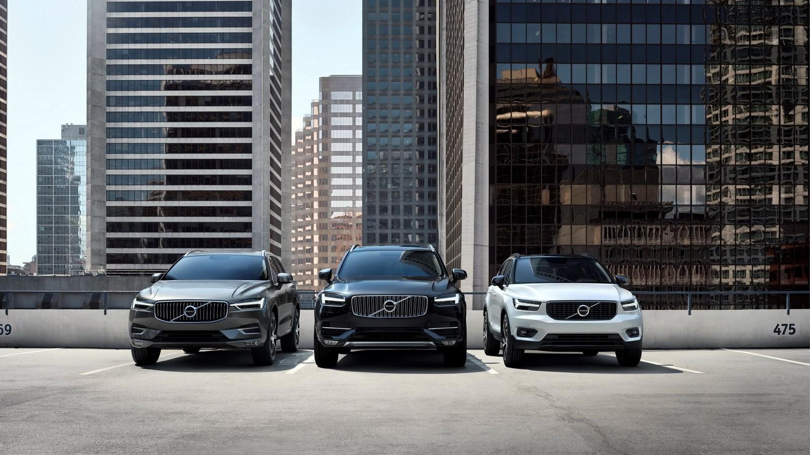 Volvo XC60, XC90 и XC40