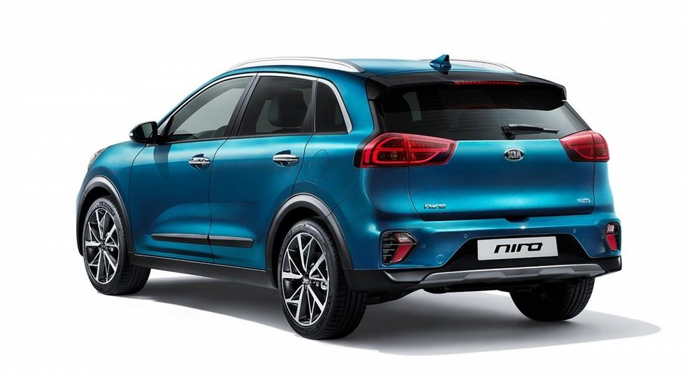 Обновленный Kia Niro Hybrid