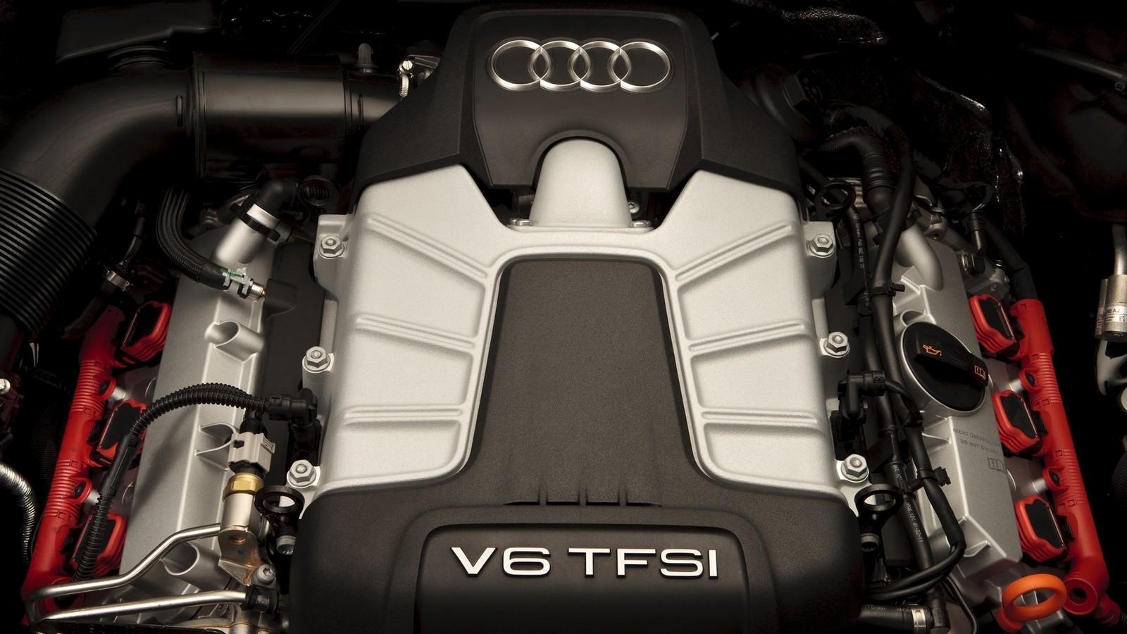 На фото: Под капотом 2011–15 Audi Q7 3.0T (4L)