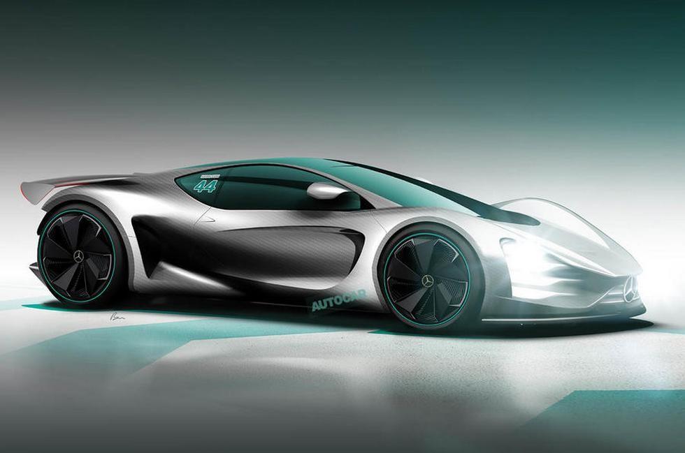 Mercedes-AMG Project One — рендер изображение Autocar