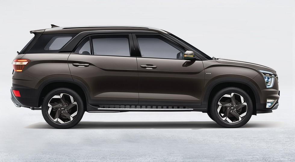 «Премиальная» растянутая Hyundai Creta выходит на рынок: три ряда и новый мотор