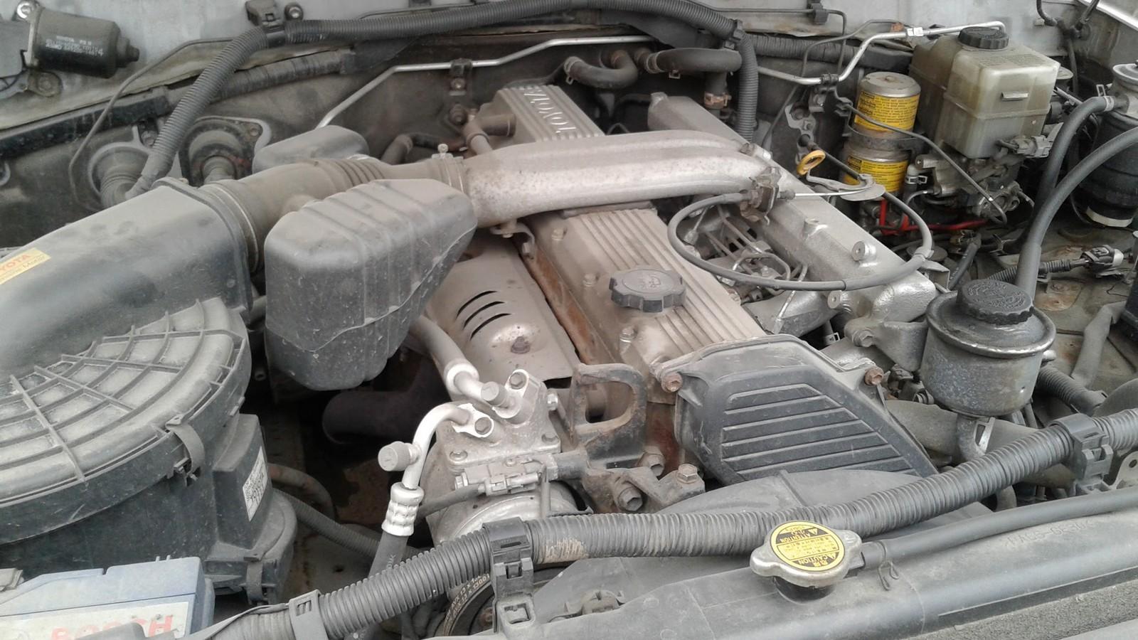 Toyota Land Cruiser 100 двигатель