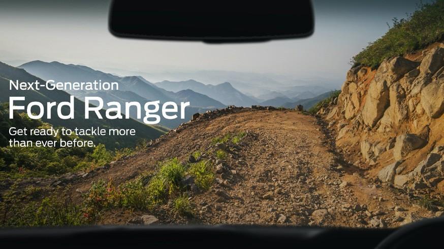Ford Ranger нового поколения получит черты от «старшего брата»: пикап пока спрятали в камуфляж