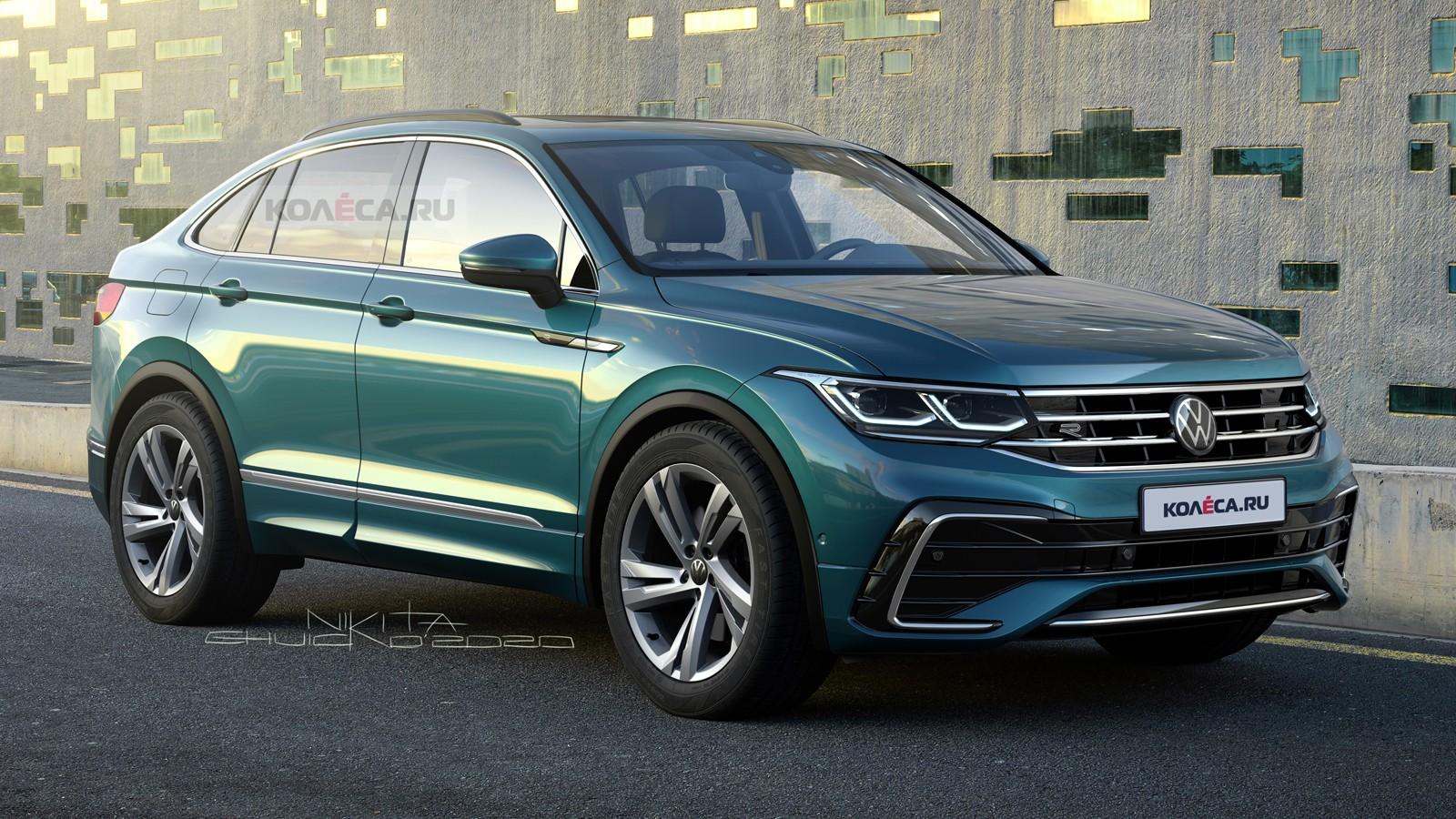 Купеобразный Volkswagen Tiguan X: новые изображения