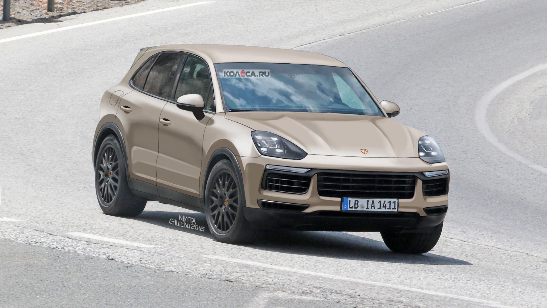 Porsche Cayenne front-1
