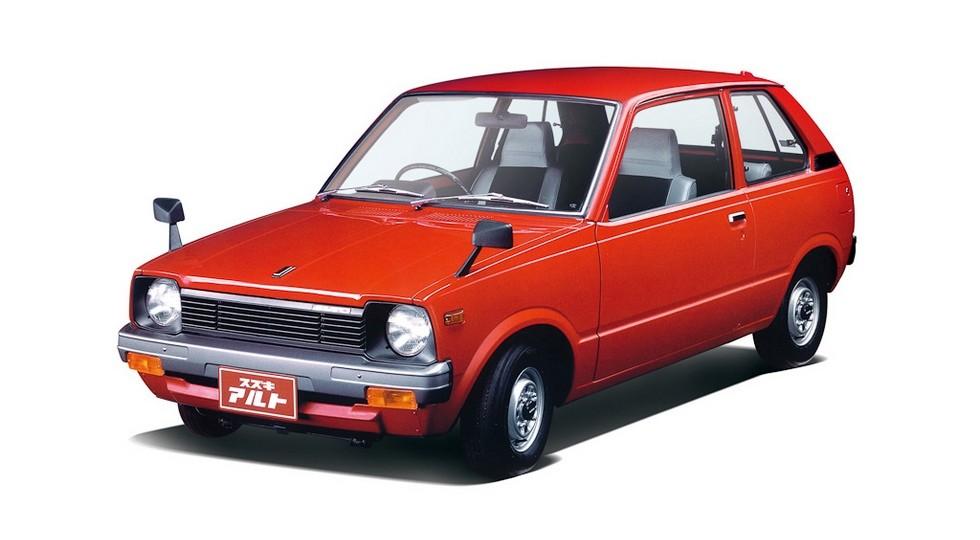 Suzuki Alto первого поколения (1979–1984), эту модель поставляли и на экспорт