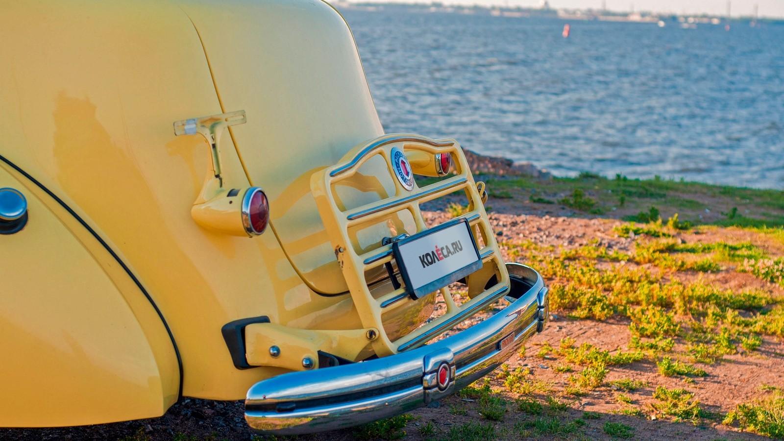 Packard Eight 1937 задний бампер