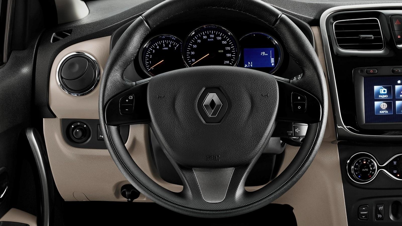 На фото: Торпедо Renault Logan '2014–н.в.