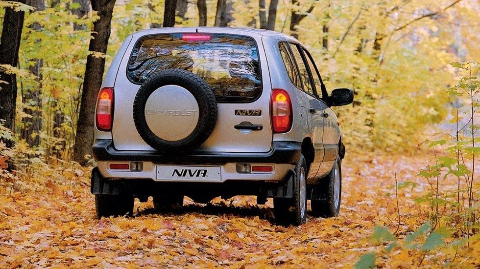 Chevrolet Niva '2002–2009