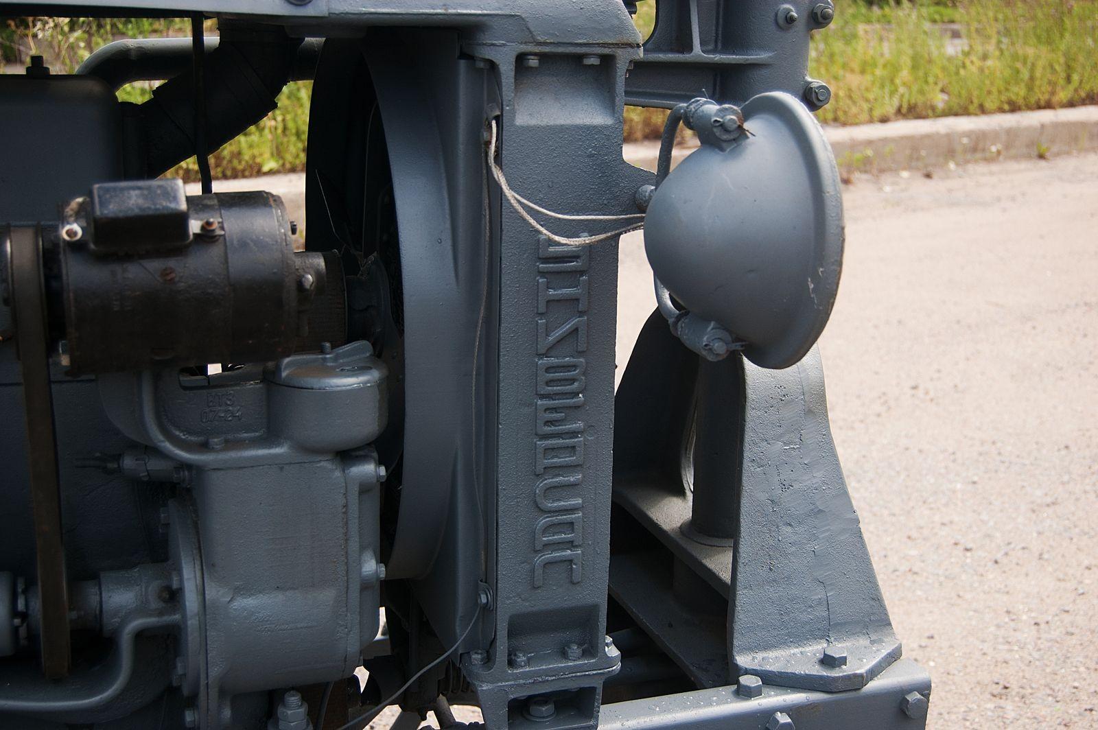 Колесница коллективизации: тест-драйв трактора Универсал-2 40-х годов