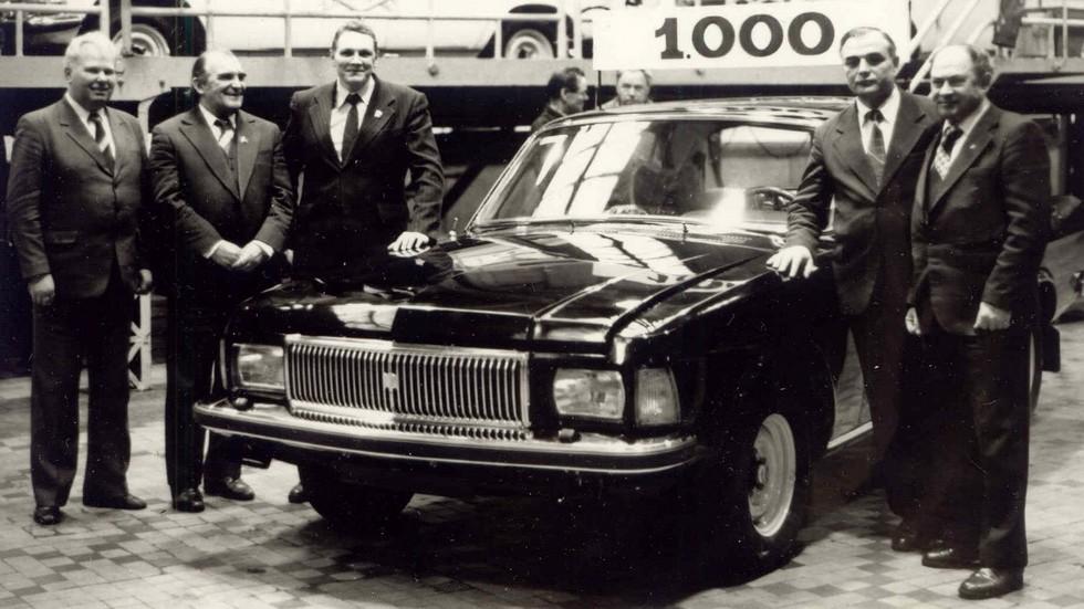 Январь 1983 года. Собран тысячный экземпляр ГАЗ-3102.