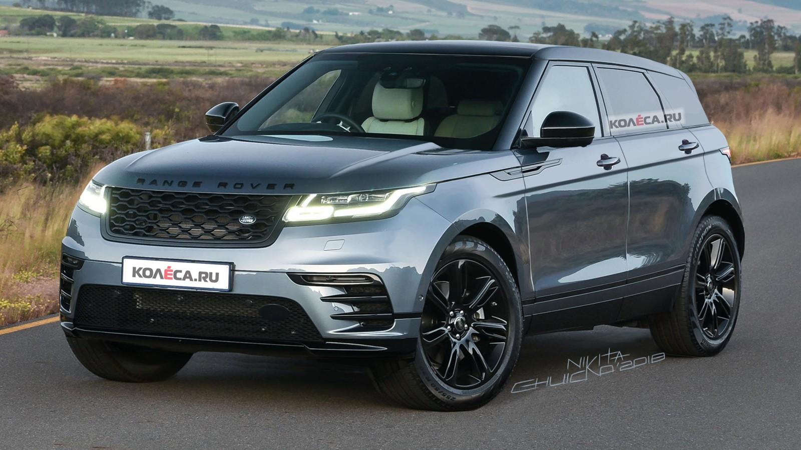 Range Rover Evoque front2
