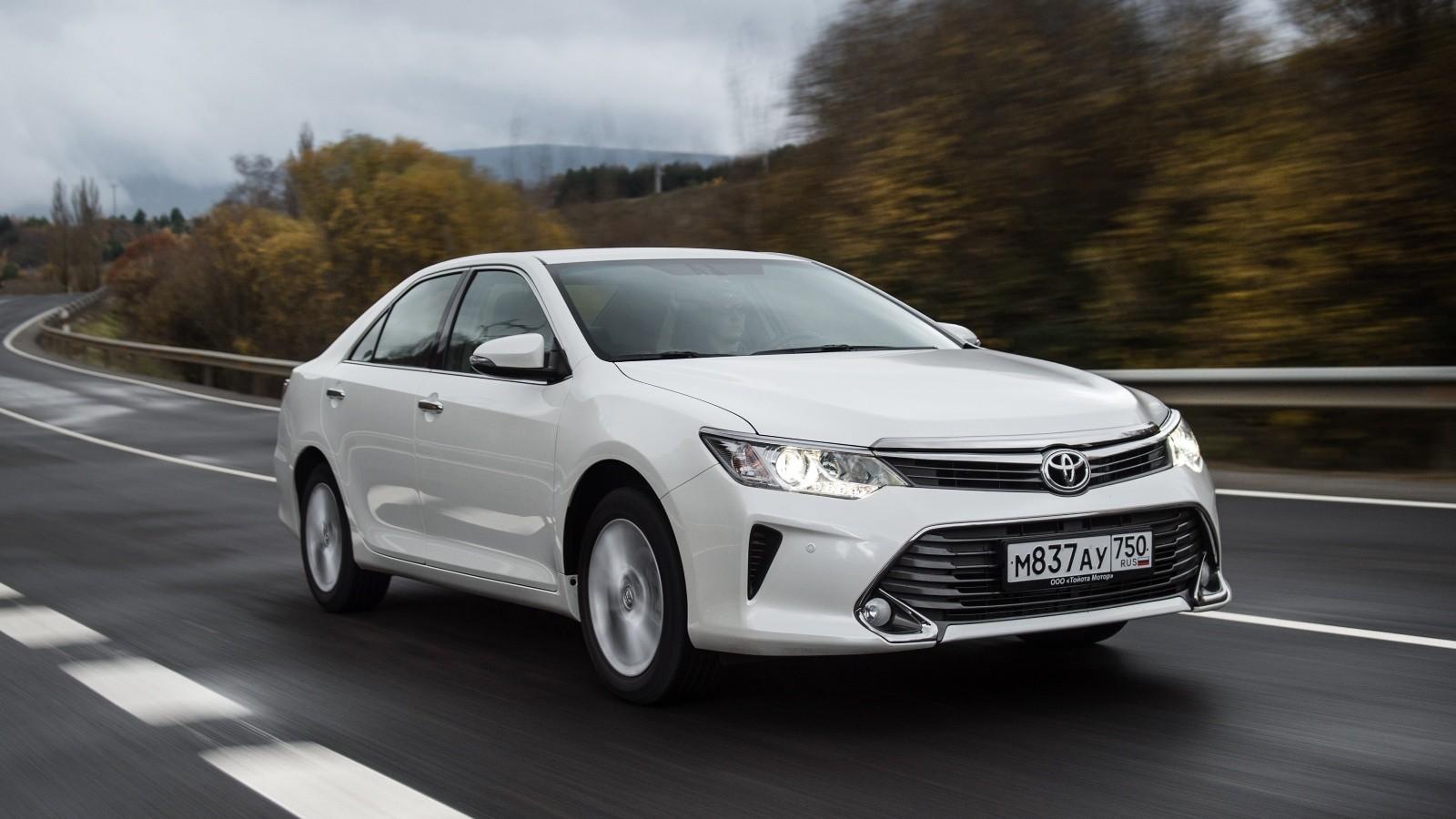 На фото: Toyota Camry актуального поколения для рынков стран СНГ
