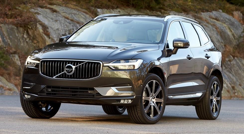 На фото: Volvo XC60 нового поколения