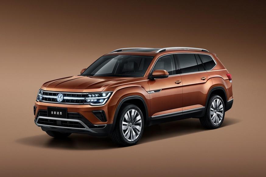Он ещё и светится: Volkswagen анонсировал другой обновлённый Teramont