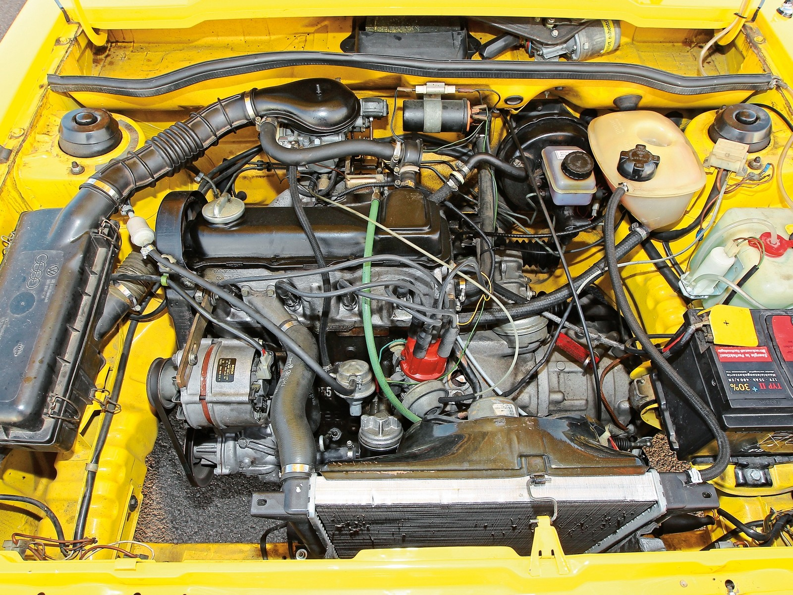 Двигатель VW Scirocco I