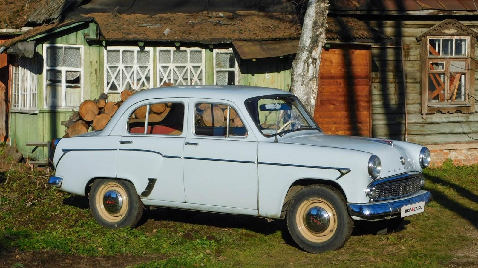Москвича 407 три четверти (2)