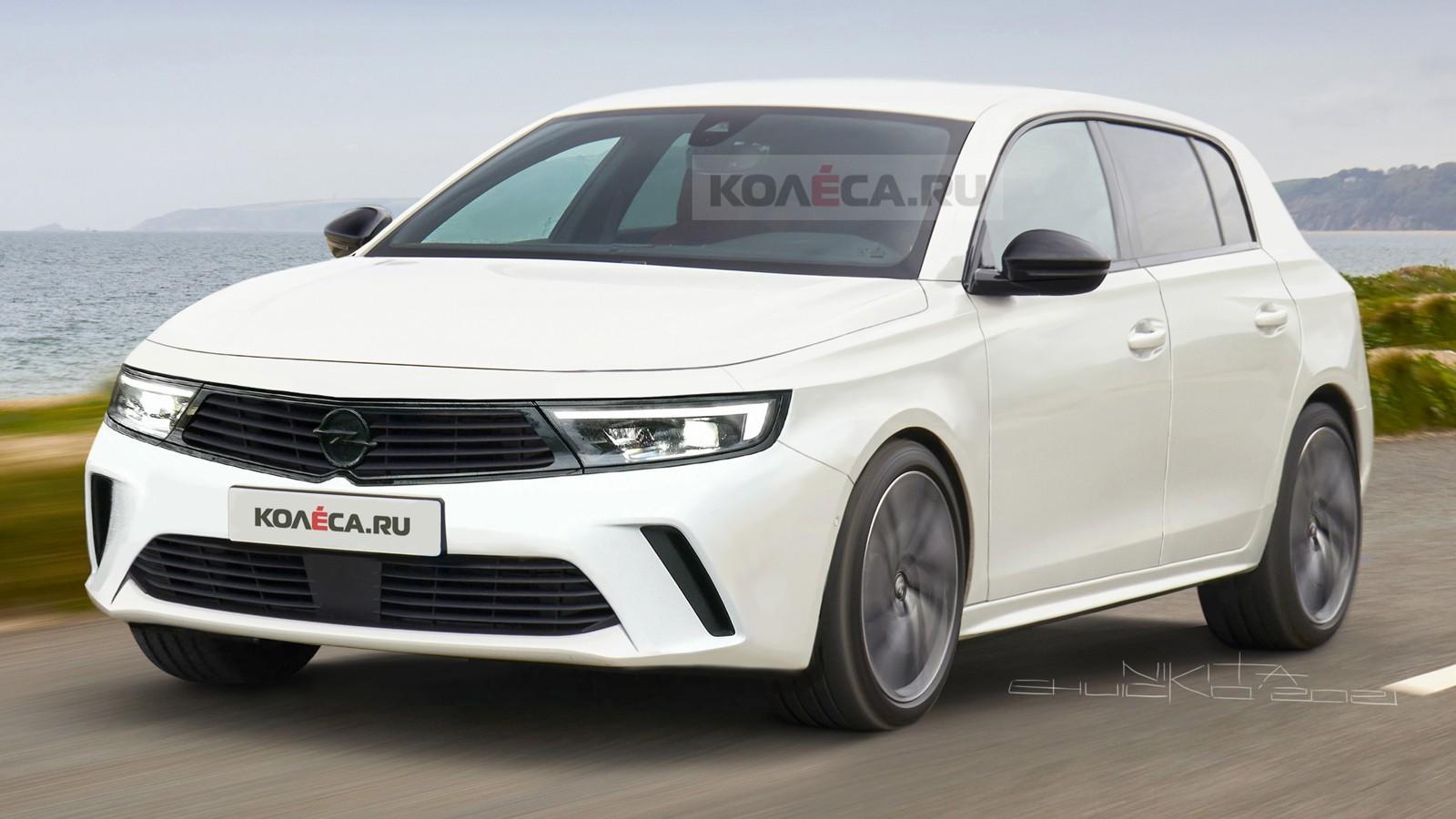 Новый Opel Astra: первые изображения