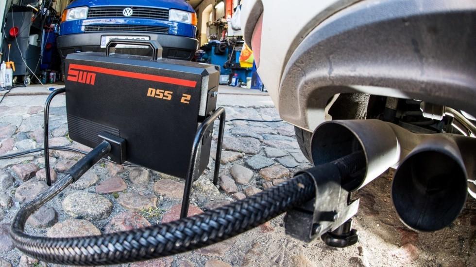 Diesel car emissions testing