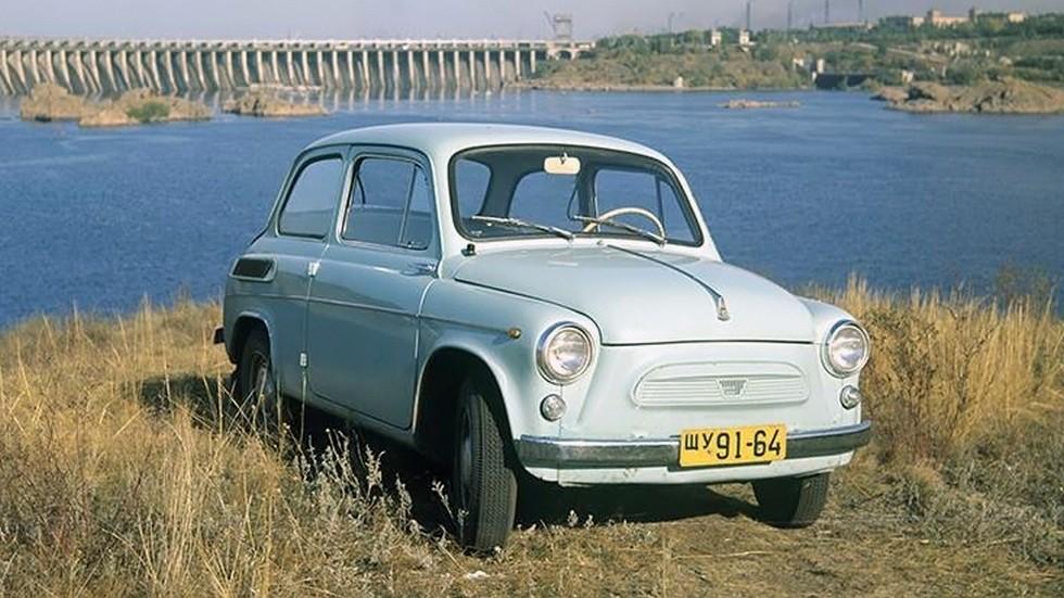 На фото: ЗАЗ-965 Запорожец. СССР, 1960