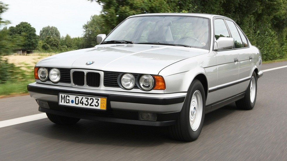 BMW 525i Sedan Worldwide (E34) '12.1987–94