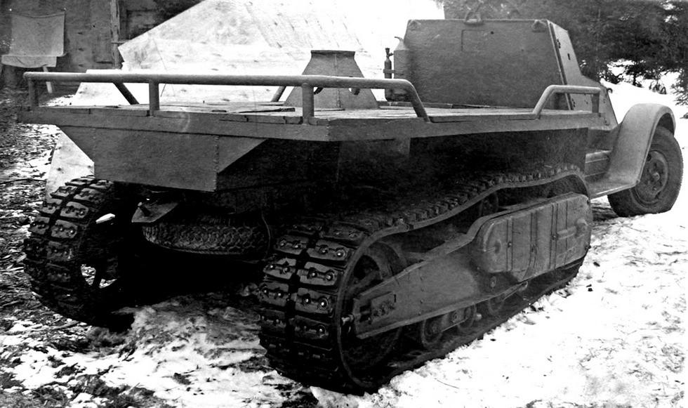 Полубронированное шасси ЗИС-22МБ