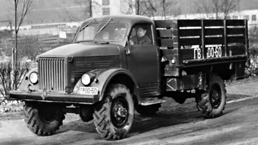 На фото: ГАЗ-63