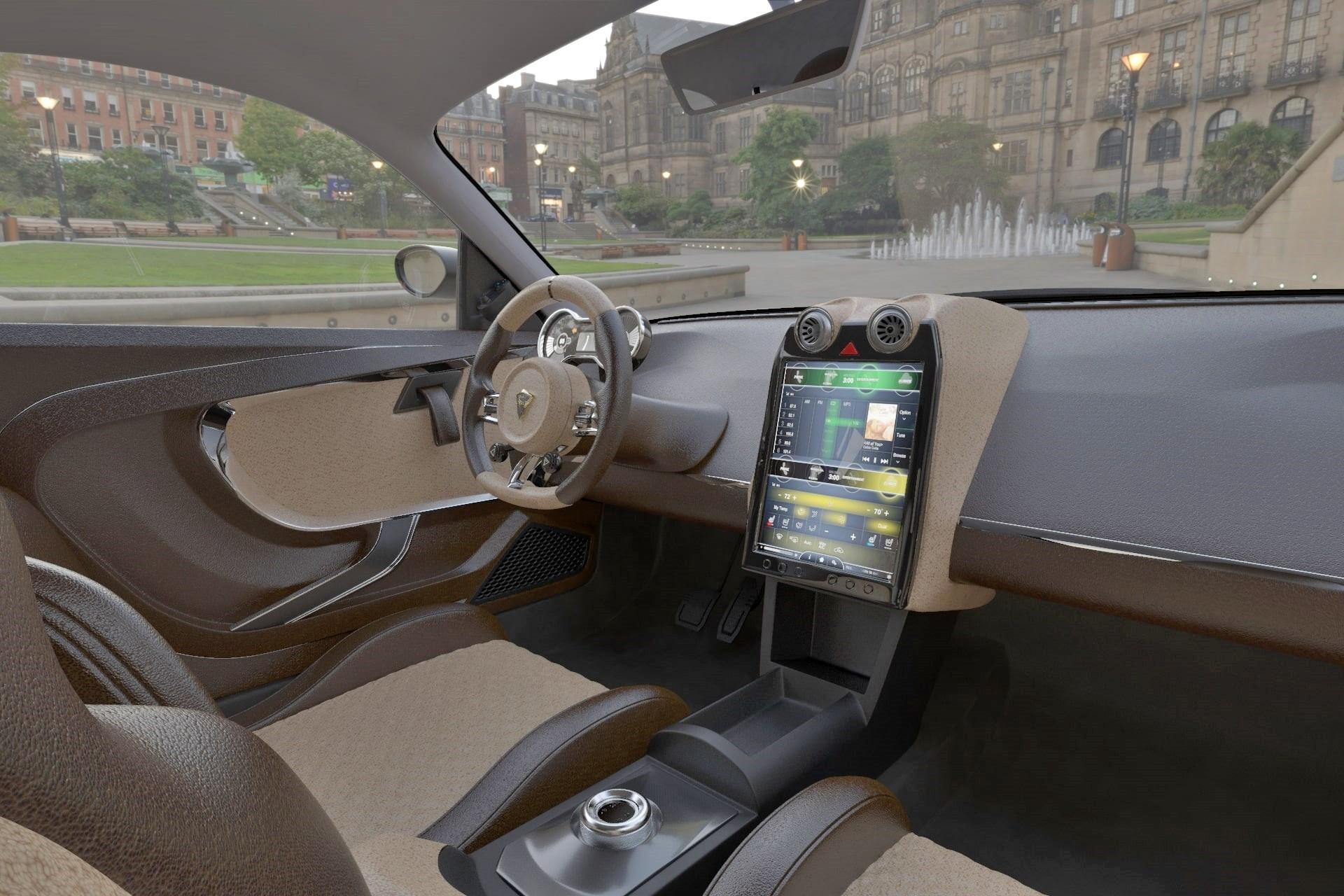 Спортивное купе EV Electra Rise из Ливана: арабский стиль и глобальные амбиции