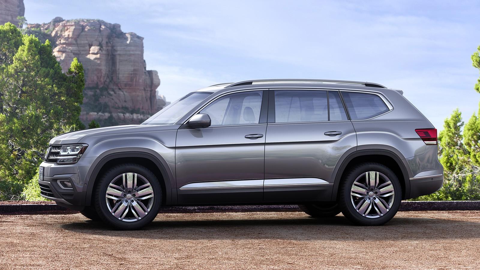 На фото: VW Atlas. В России модель будет продаваться под именем Teramont