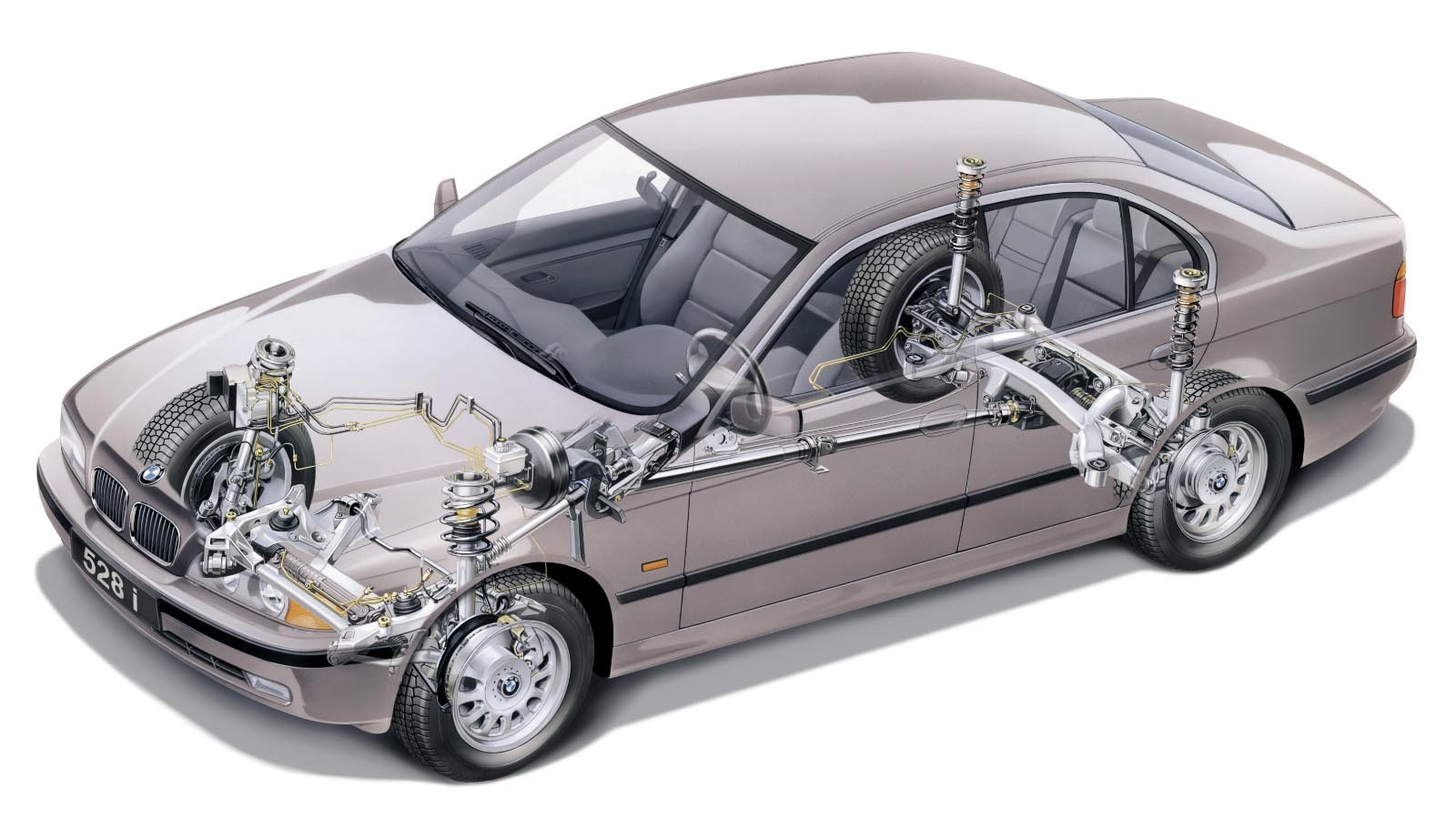 Бмв Е39 (технические характеристики) - Bmw 5 E39