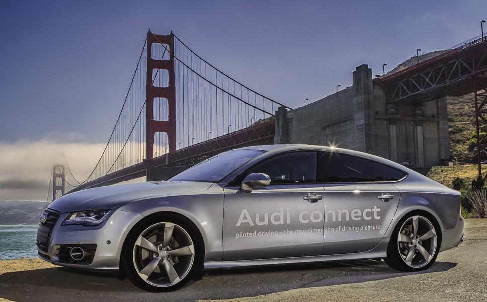 Концепт Audi A7 Piloted Driving