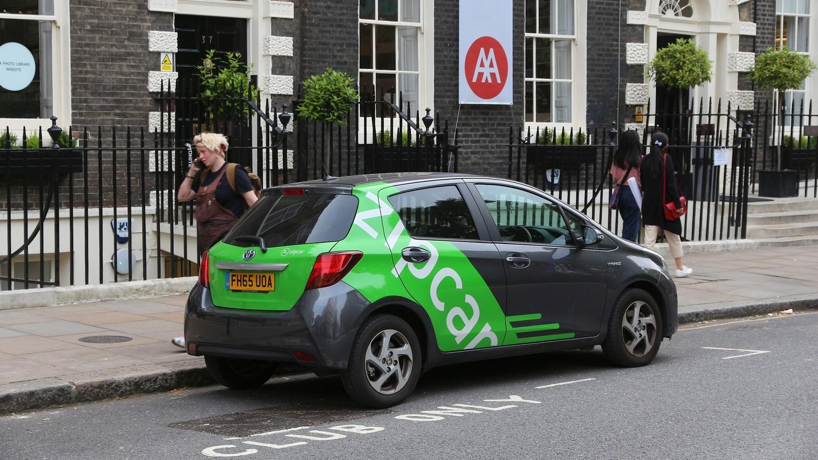 Car sharing — Zipcar