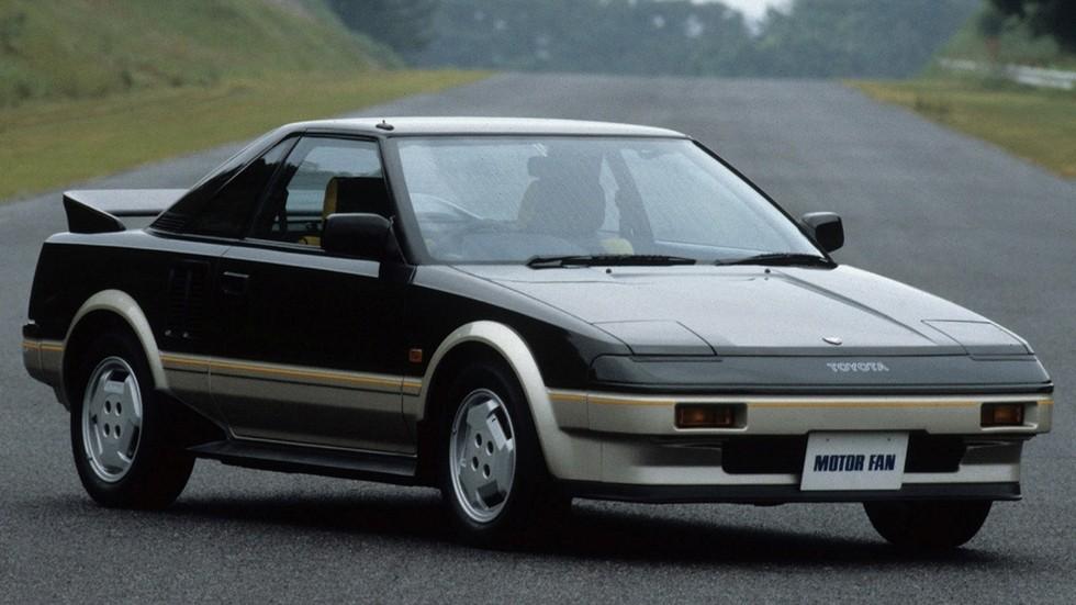 На фото: Toyota MR2 '1984–89