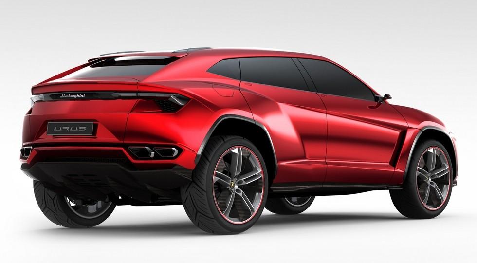 Концепт Lamborghini Urus, представленный в 2012 году