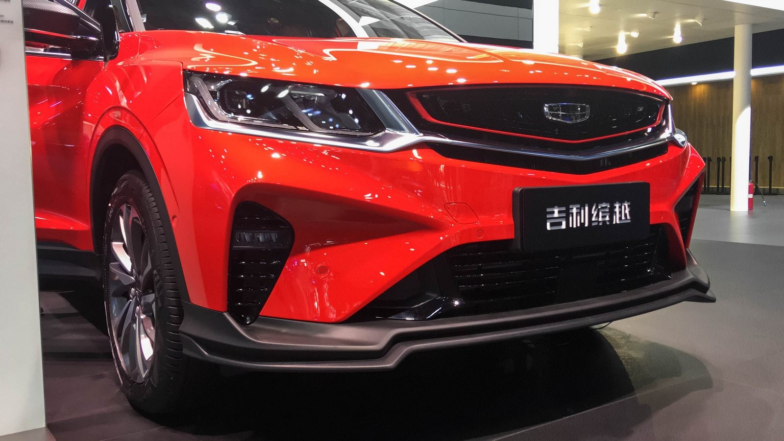 Geely SX11 оранжевый спереди (2)