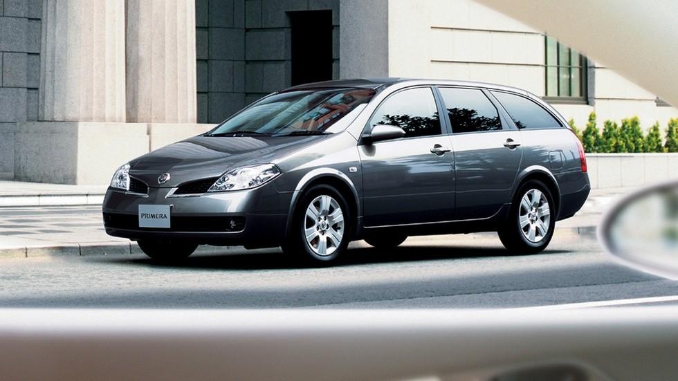 Nissan Primera Wagon JP-spec (P12) '07.2003–12.2005