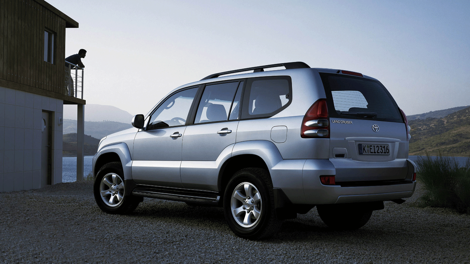Toyota Land Cruiser Prado (120) '2002–09