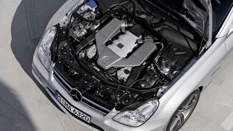 Под капотом Mercedes-Benz CLS 63 AMG Worldwide (C219) '2008–07.2010